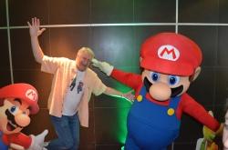 Charles Martinet and Mario